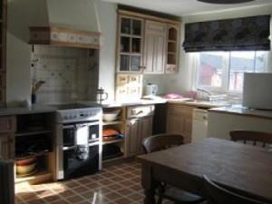 The Kitchen at the Pottery Flat