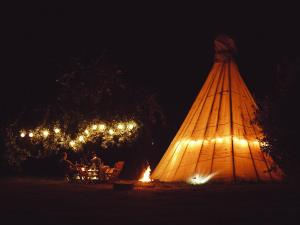 Tipi Outside