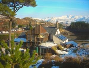 Bryn Elltyd-Snow Scenery