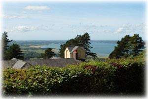 Seaview from cottages