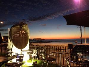 Sunset at Gwesty Cymru