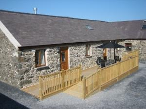 Delfryn with Decking / Seating Area
